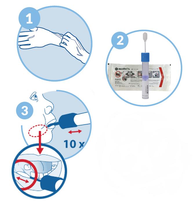 bezpieczne pobranie próbki