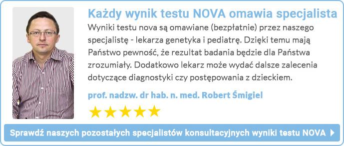 konsultacja wyników NOVA prof. Robert Śmigiel