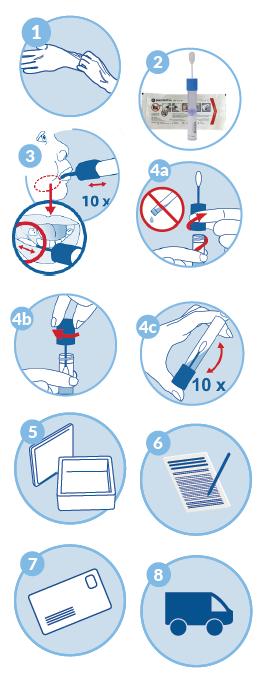 instrukcja pobrania wymazu z policzka