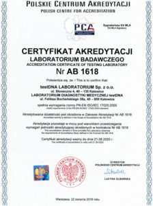 certyfikat jakości
